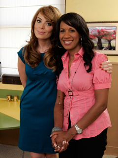 Yoanna House and Dr. Michelle