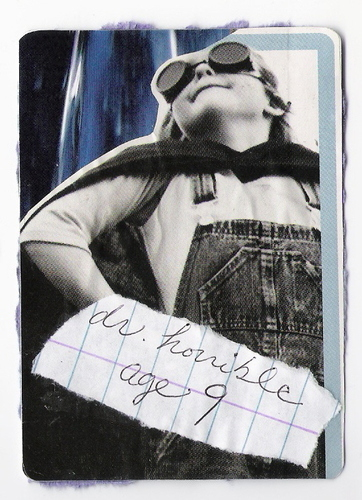 Young Dr. Horrible Artist Trading Card Front