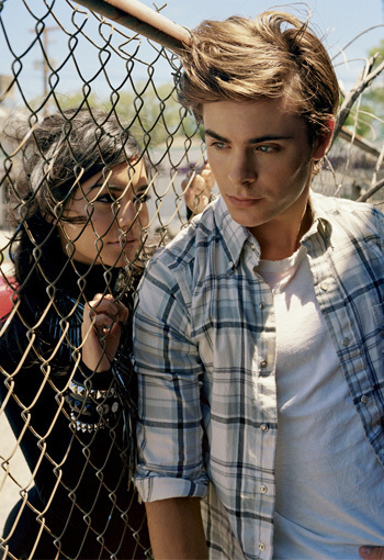 zac efron and vanessa hudgens photoshoot. Elle Magazine Photoshoot