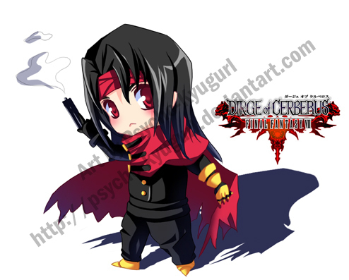 Vincent Valentine वॉलपेपर probably containing ऐनीमे called little vincent