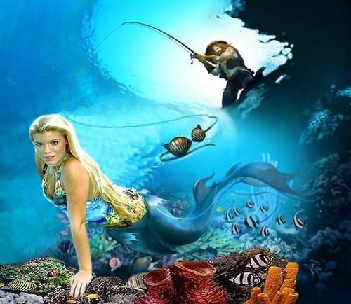 mermaid- fishin trip