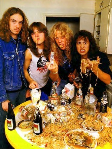 metallica james hetfield and kirk hammett