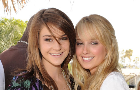 The Secret Life of the American Teenager wallpaper with a portrait called shai and megan