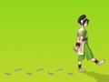 toph walking - toph wallpaper