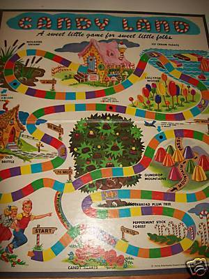 1962 Version of Candy Land - candy-land Photo