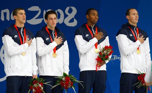 4x100 men's relay