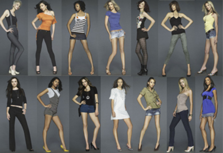 ALL CYCLE 11 GIRLS