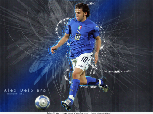 Alex With Azzurri