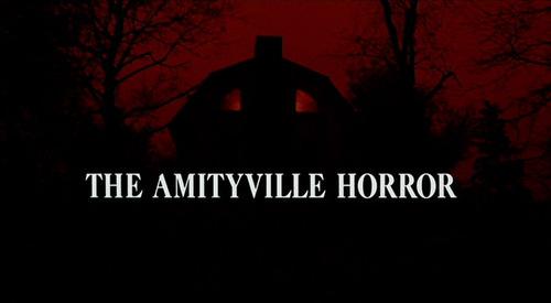 Amittyville Horror movie 标题 screen