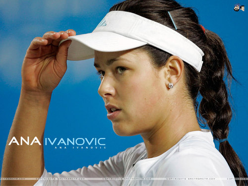 Ana Ivanović wallpaper probably with a tennis player, a tennis pro, and a wicket called Ana Wallpapers