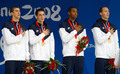 Beijing 4x100 Freestyle Relay - michael-phelps photo