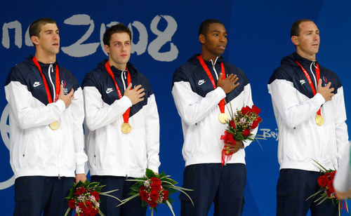 Beijing 4x100 Freestyle Relay