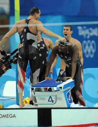 Beijing 4x100 Freestyle Relay