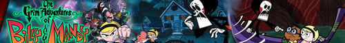 Billy and Mandy banner