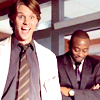 House M.D. photo containing a business suit titled Bloopers!