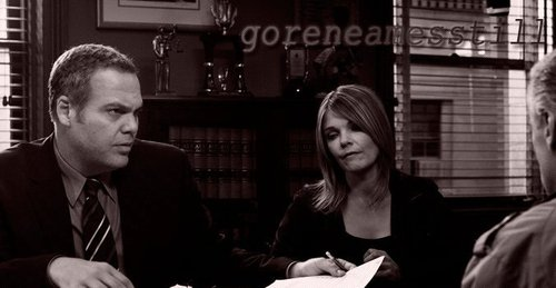 Law & Order: CI wallpaper containing a business suit titled Bobby and Alex