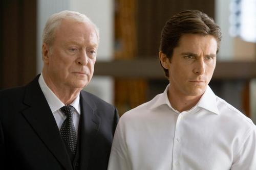 Bruce Wayne and Alfred