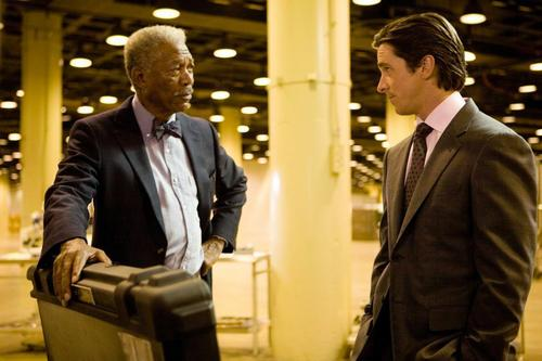 Bruce Wayne and Lucius fox, mbweha