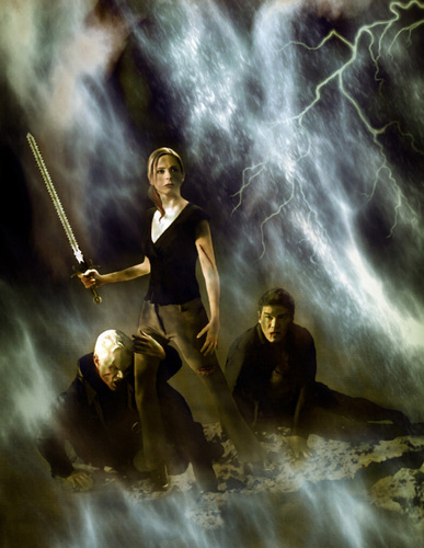Buffy,Spike,Angel