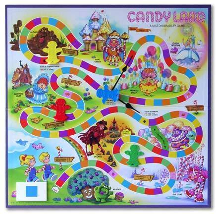 Candy Land Board Game - candy-land Photo