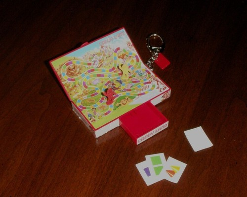 Candy Land Keychain