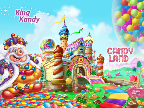 Candy Land King Kandy - candy-land Wallpaper