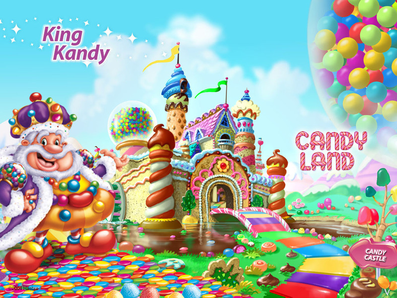 Candyland King Candy All: Candyland Swap Ma...