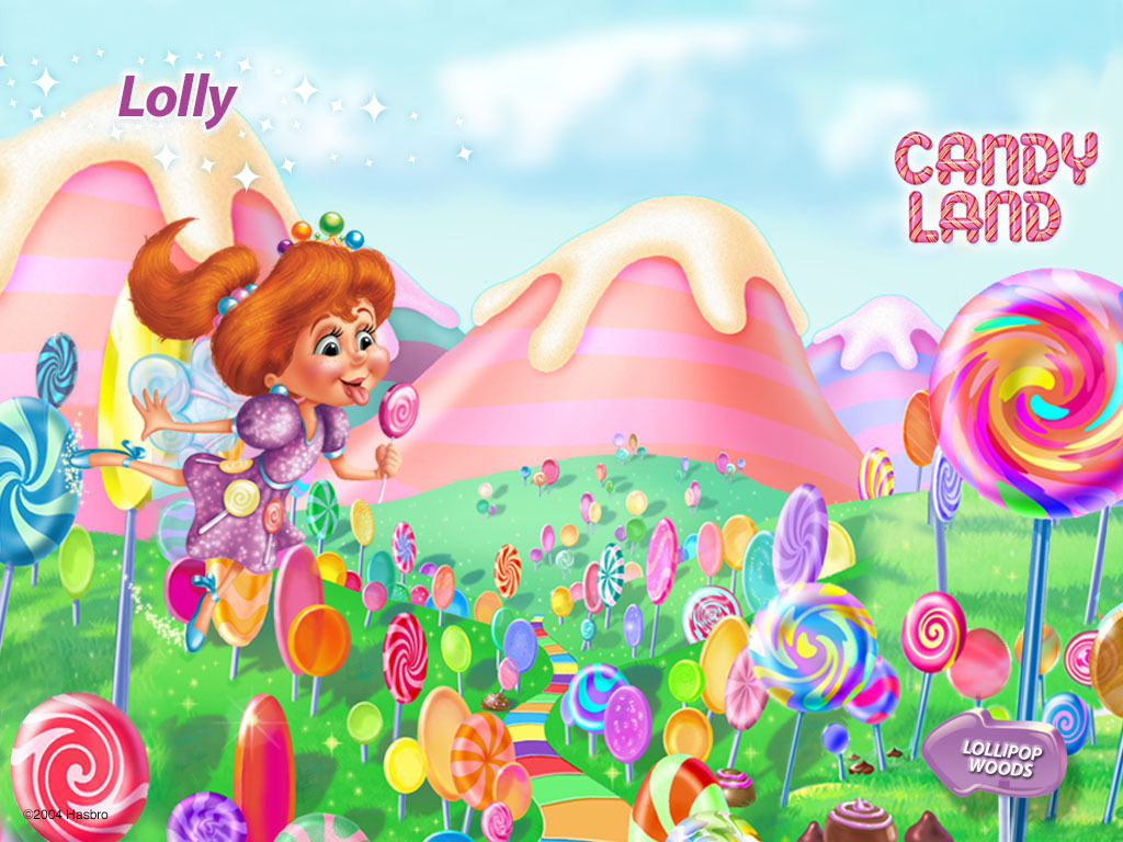 candy land lollipops