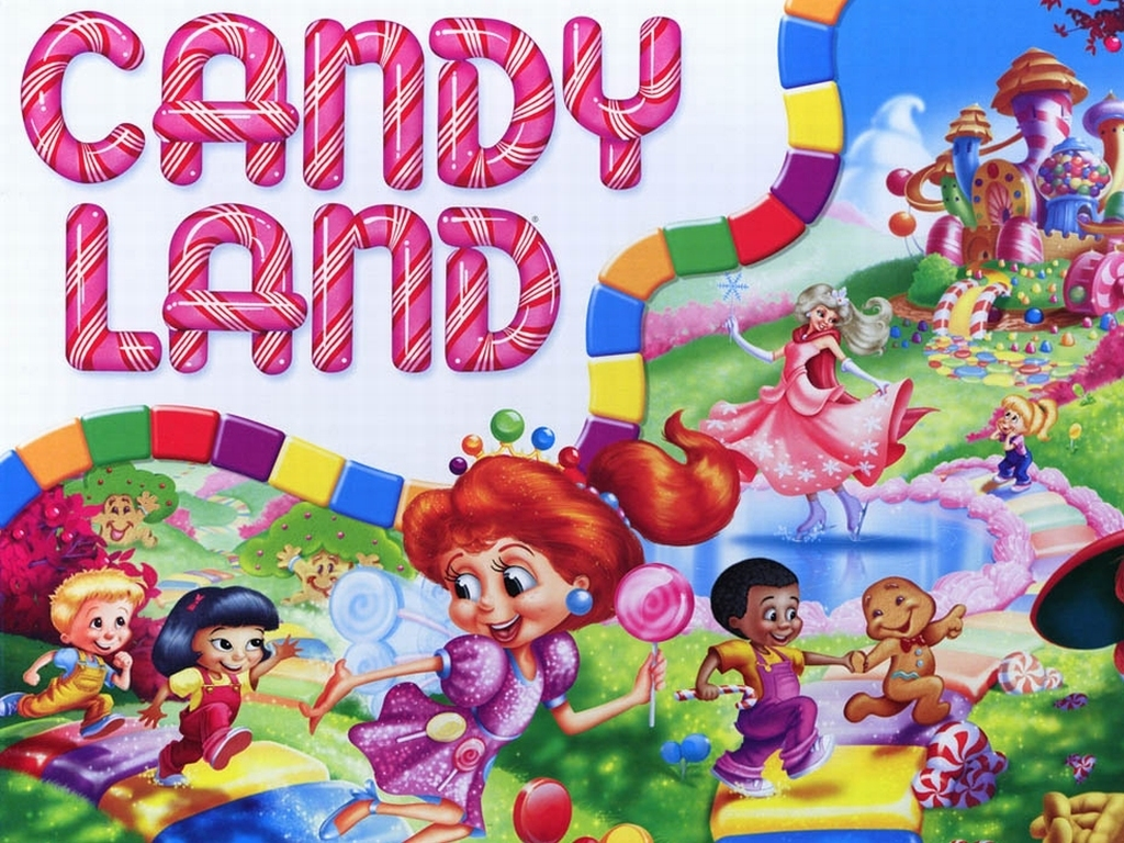 Candy Land Wallpaper
