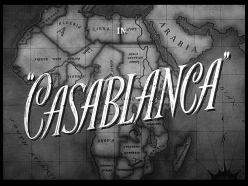 Casablanca movie pamagat screen