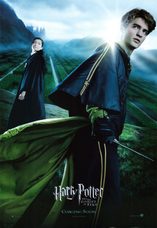 Cedric Diggory and Cho Chang - harry-potter-and-the-goblet-of-fire Photo
