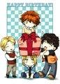 Chibbi Cullen Boys ♥ - twilight-series fan art
