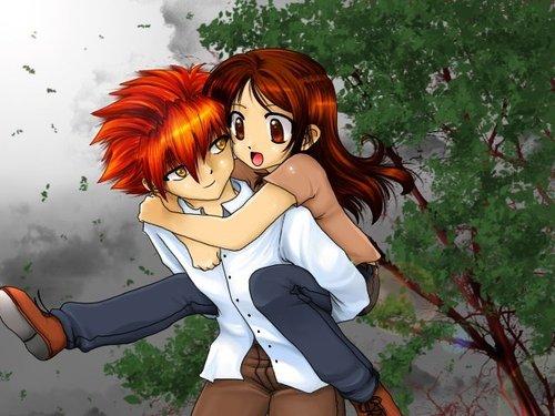 Chibbi Edward and Bella ♥