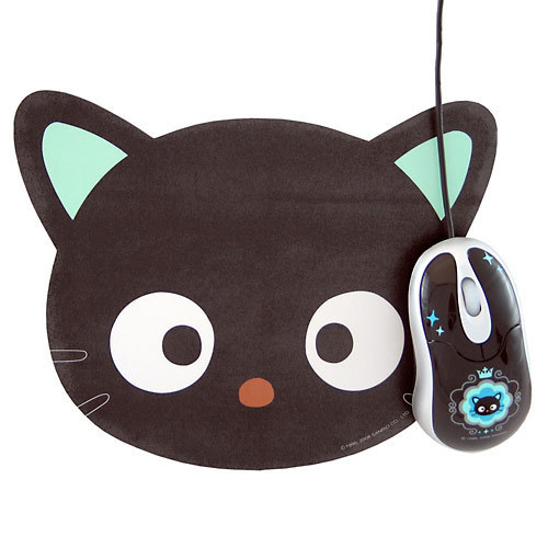 Chococat Mousepad and Mouse!