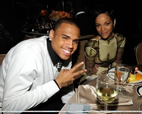 Chris Brown & リアーナ