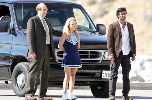 Claire- On Set Season 2