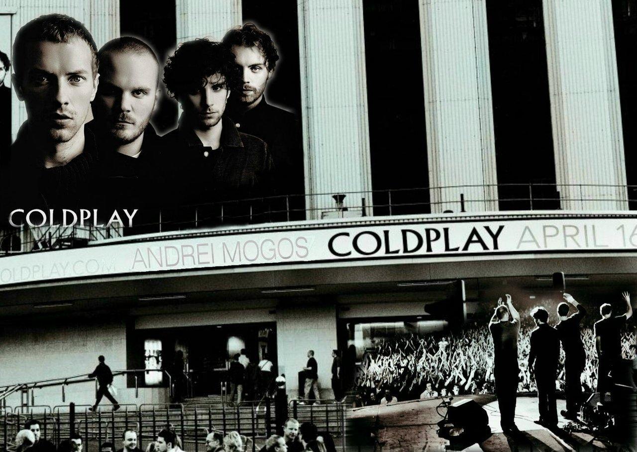 Coldplay karatasi la kupamba ukuta