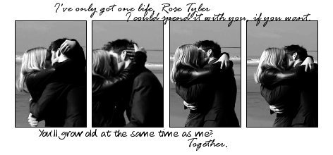 Doctor & Rose Love Banners