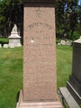 Dr. Francis Tumeulty's Grave-Jack the Ripper Suspect-Closeup - cemeteries-and-graveyards photo