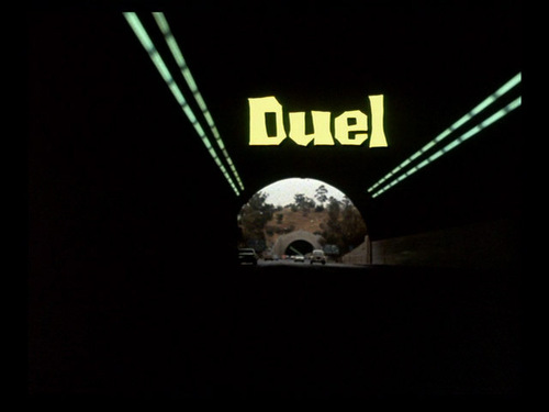 Duel movie titre screen