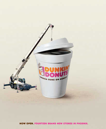 Dunkin Donuts wallpaper called Dunkin' Donuts: Rebuilding
