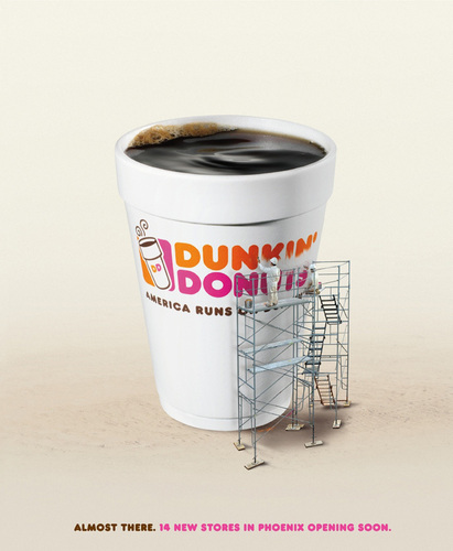 Dunkin Пончики Обои entitled Dunkin' Donuts: Rebuilding