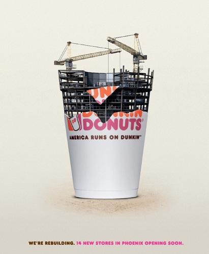 Dunkin Donuts wallpaper entitled Dunkin' Donuts: Rebuilding