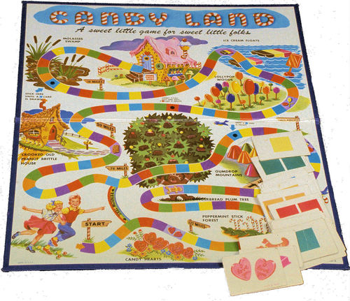 Early Version of Candy Land