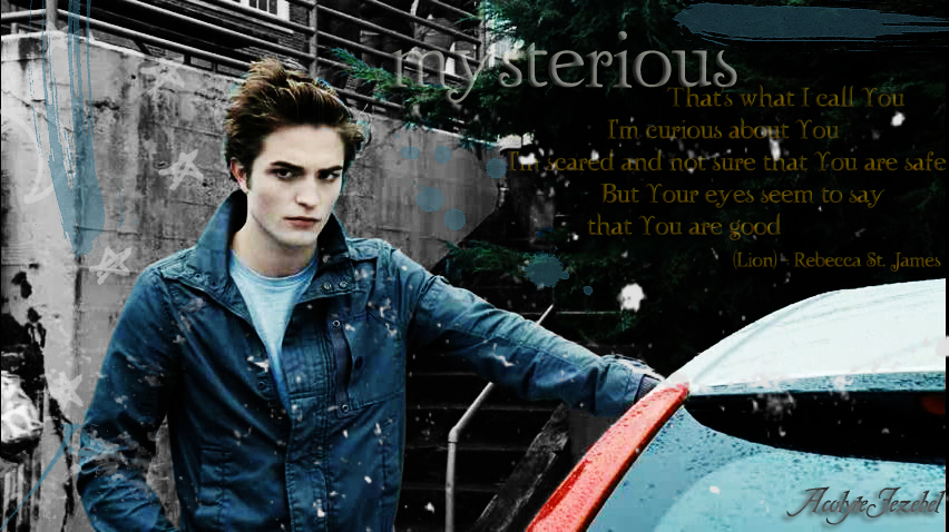 edward cullen wallpaper twilight. Edward Cullen