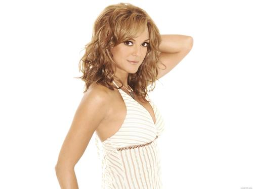 Eva Larue wallpaper possibly containing a bustier, a cocktail dress, and a chemise called Eva Larue