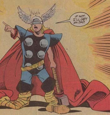 Franklin Richards is Thor