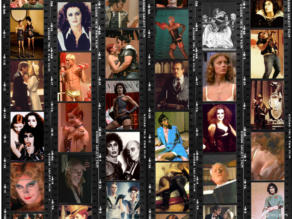 The Rocky Horror Picture Show Images Film Reel Hd Wallpaper And