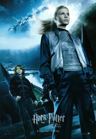 Fleur Delacour and Ronald Weasley
