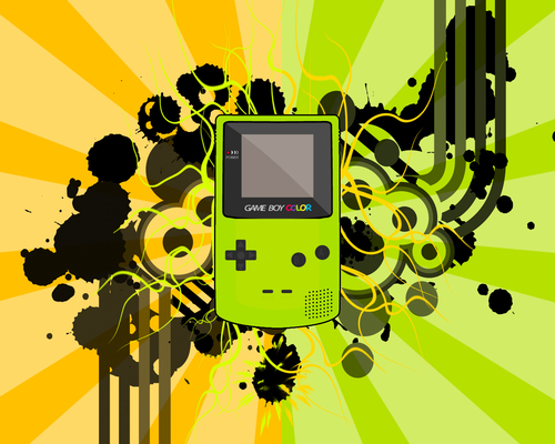 Gameboy Color fondo de pantalla